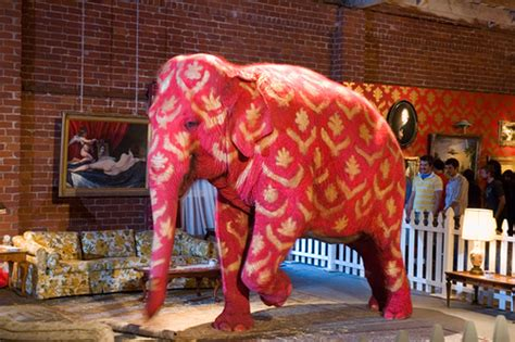 the pink elephant in the room banksy s pink elephant ashleyniblock flickr
