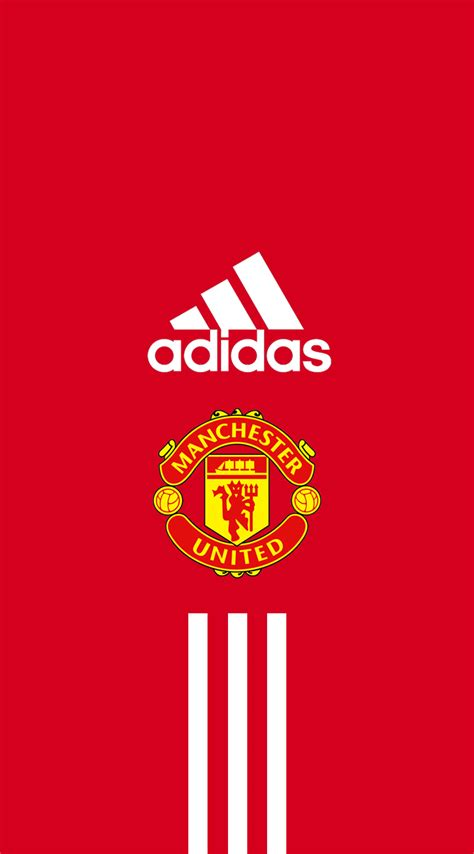 Garskin Manchester United Mu Fc Screenguard For Iphone 4 4s manchester united iphone wallpaper adidas by dixoncider123 on deviantart