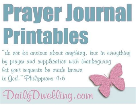 25 best ideas about prayer journal printable on