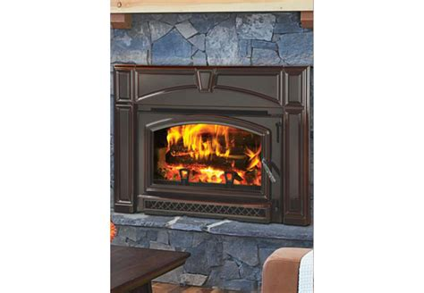 Fireplace And Stove Stores Quadra Voyager Wood Burning Fireplace Insert