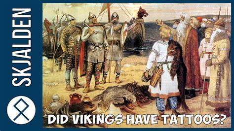 did vikings have tattoos did vikings tattoos