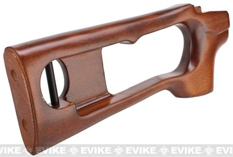 Kingarms Real Handguard Stock For Svd eagle real wood handguard stock kit for svd series airsoft sniper rifles accessories