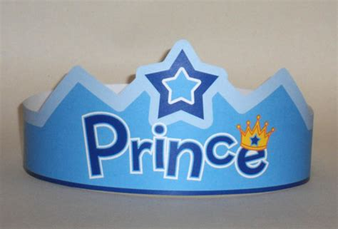 How To Make A Prince Crown Out Of Paper - the gallery for gt prince crown cut out