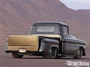 1958 chevy something sinister truckin magazine
