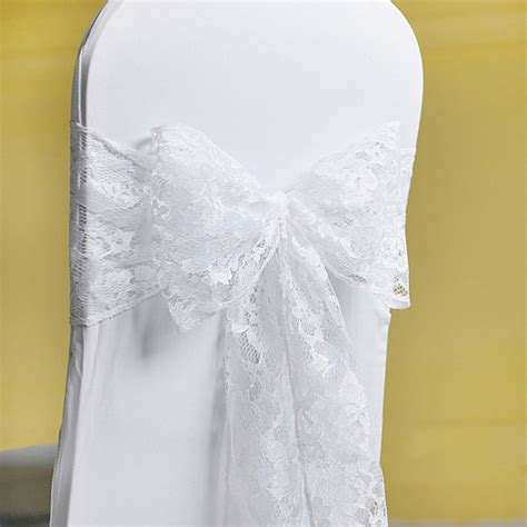 Lace Chair Sashes by Lace Chair Cover