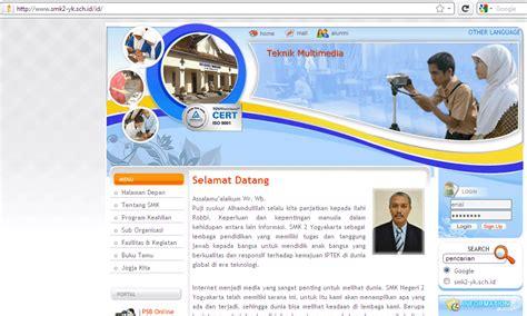 membuat web sekolah ratlin s pd cara membuat web sekolah domain sch id