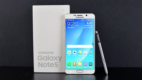 samsung galaxy note 5 unboxing review