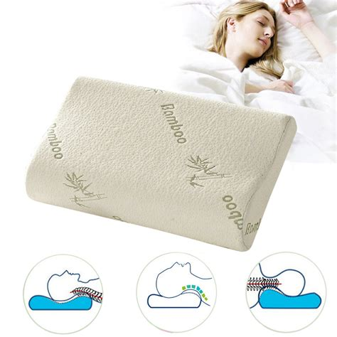 bamboo memory foam pillow reviews shopping bamboo