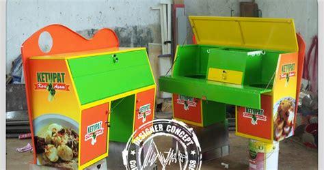 desain gerobak siomay desain logo logo kuliner desain gerobak jasa desain