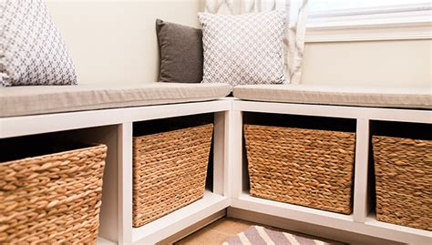 Adding Trim To Cabinet Doors Breakfast Nook Storage Bench