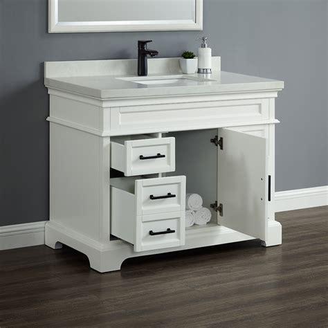 chandler 42quot single sink vanity mission hills furniture