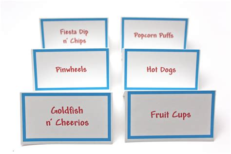 free printable place card brunch munch pinterest place card
