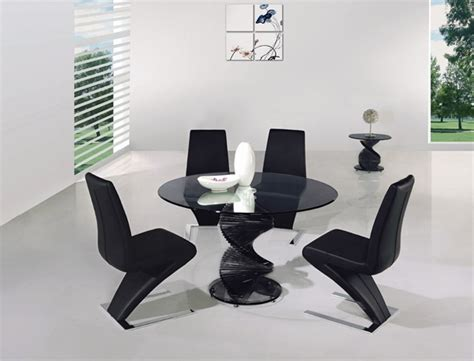 Twirl Glass Dining Room Table Twirl Glass Dining Table Portofino Glass Dining Table