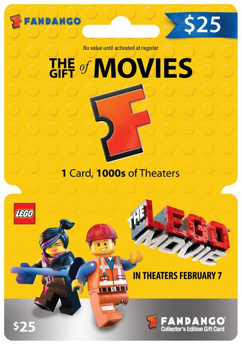 Fandango Dinner Movie Gift Card - win fandango gift cards to see the lego movie giveaway