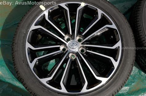 Toyota Wheels 2014 Toyota Corolla Oem Factory 17 Quot Wheels Firestone