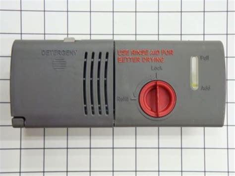 Kitchenaid Dishwasher Detergent Dispenser Lid Whirlpool Jenn Air Kitchenaid Maytag Roper Admiral Sears