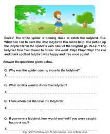 english comprehension for grade 1 boxfirepress
