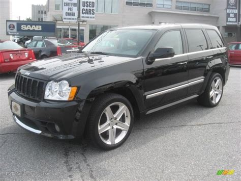 srt8 jeep black black 2006 jeep grand cherokee srt8 exterior photo