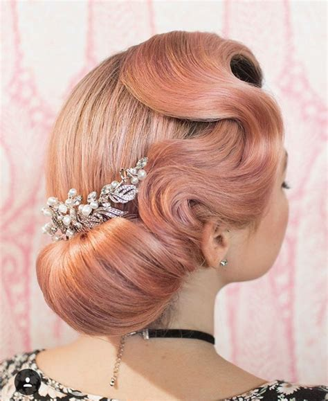 69 Vintage Inspired Updos For by 1000 Images About Vintage Retro On