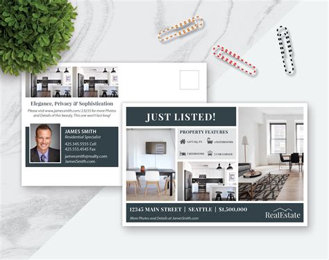 real estate templates for apple pages real estate postcard template marketing template pages