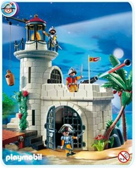 roeiboot intertoys playmobil 4294 soldatenbastion met vuurtoren