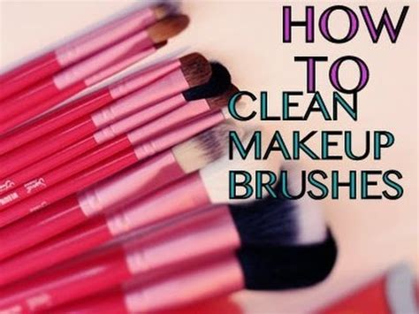 how to clean makeup brushes at home superprincessjo