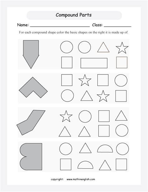 maths worksheets compound shapes volume worksheetslook