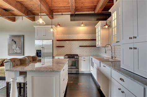 cottage kitchen countertops cottage kitchen with flush kitchen island ms