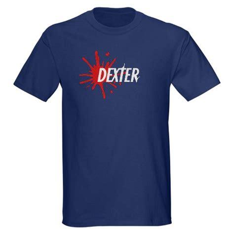 dexter blood spatter t shirt thlog