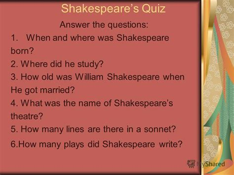 who did shakespeare write his plays for
