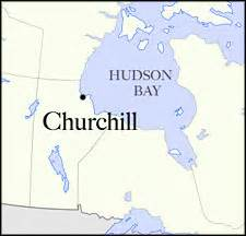 map churchill canada as arctic sea declines polar patrol gets busy