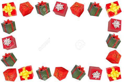 christmas present borders and frames fun for christmas