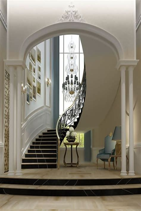 Staircase Ideas Near Entrance 30 Best Images About Grand Foyer On Ontario Foyer Tables And Entry Doors