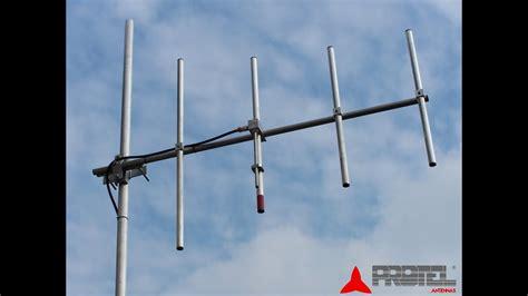 homemade yagi beam antenna  mhz  kiuh tech