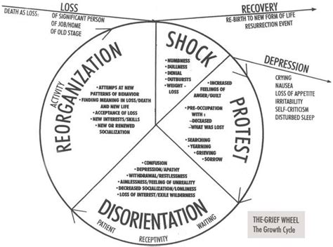 cycle of grief diagram the u s embassy nairobi bombings association for