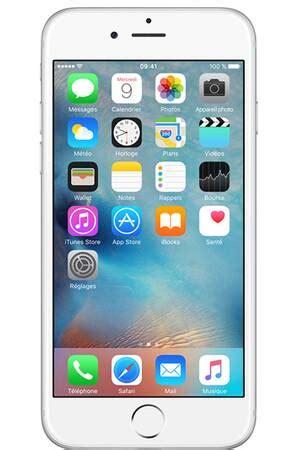 iphone apple iphone 6 64go argent iphone 6 darty