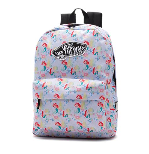 vans pattern backpack the little mermaid accessories you ll want to be part of