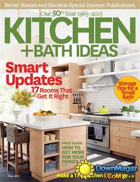 kitchen ideas magazine kitchen and bath ideas usa fall 2015 187 pdf magazines magazines commumity