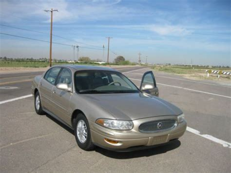 sell used 2005 buick lesabre limited touring sedan on star sirius leather clean carfax in