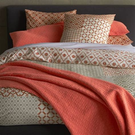 crate and barrel coverlet bed linens crate and barrel and blossoms on pinterest