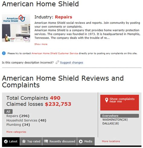 home warranty company on home shield american home