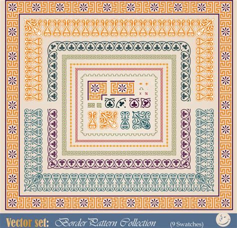 how to apply a pattern in svg free vintage borders or frames free vector download
