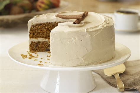 Carrot Cake Witj Glaze Icing Sugar pumpkin carrot cake with brown sugar icing recipe kraft