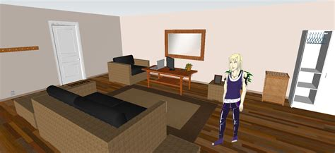 design apartment sketchup sketchup living room living room