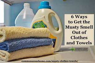 6 ways to get the musty smell out of clothes and towels