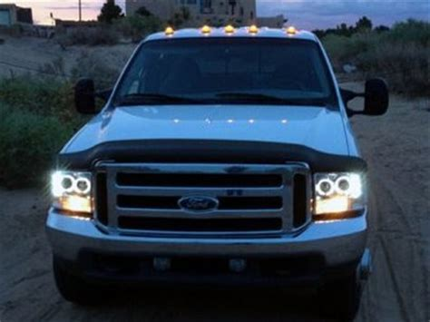 Ford Cab Lights by Ford F250 Duty 1999 2007 Led Cab Lights Smoked