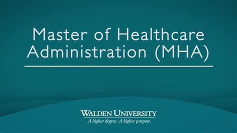 learning experience videos and multimedia walden master of healthcare administration mha