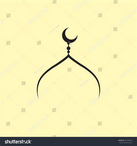 logo kubah masjid vector  desain desain logo