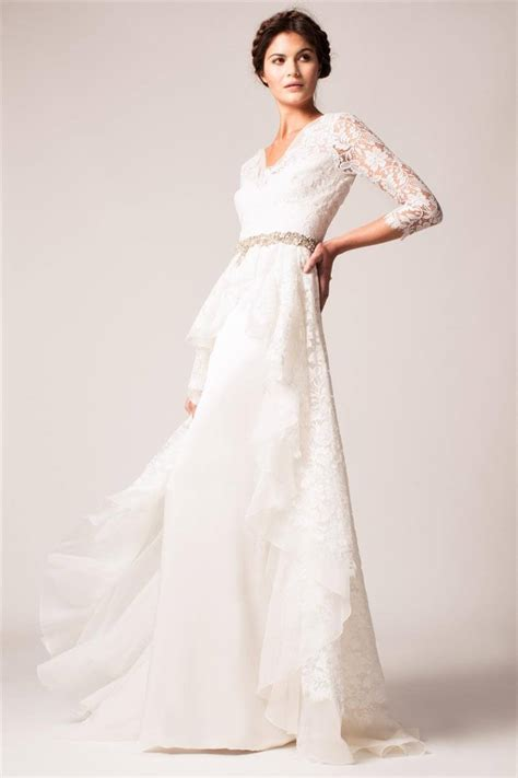 sleeve wedding dresses 45 of the most stunning sleeve wedding dresses