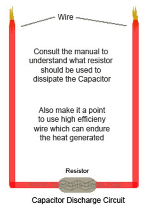 how to discharge a small capacitor 28 images 0 88uf ch capacitor small capacitance microwave